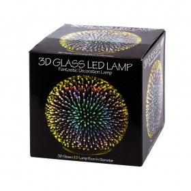 LED Lamp with 3D Effect
