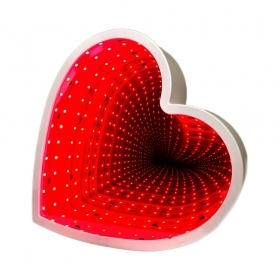 "Infinity LED lamp ""Heart"""