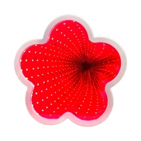 "Infinity LED lamp ""Flower"""